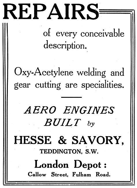 Hesse & Savory Engineers. Welding, Gear Cutting & Repairs