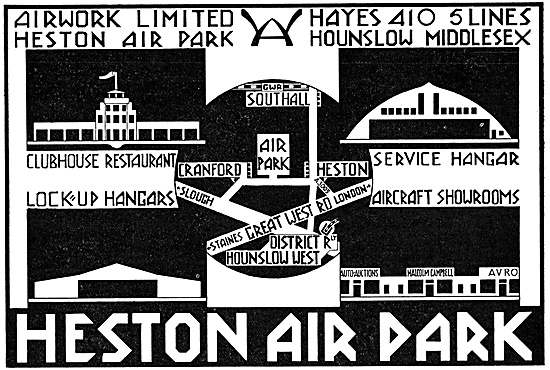 Heston Air Park - Operated By Airwork Ltd