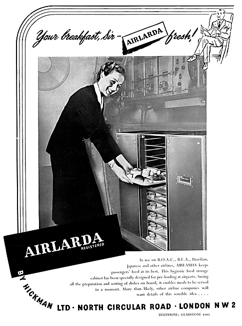 Hickman AIRLARDA Galley Equipment