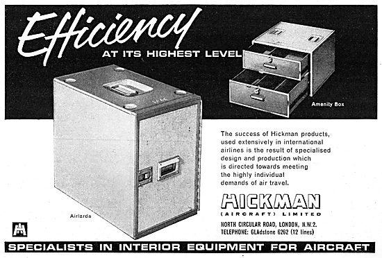 Hickman Aircraft Galley Equipment