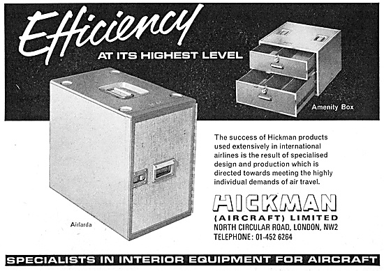 Hickman Aircraft Galley & Catering Equipment