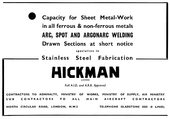 Hickman AGS Parts,Sheet Metalwork & Stainless Steel Fabrications.