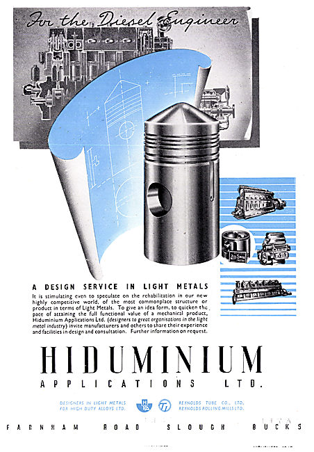 Hiduminium Applications