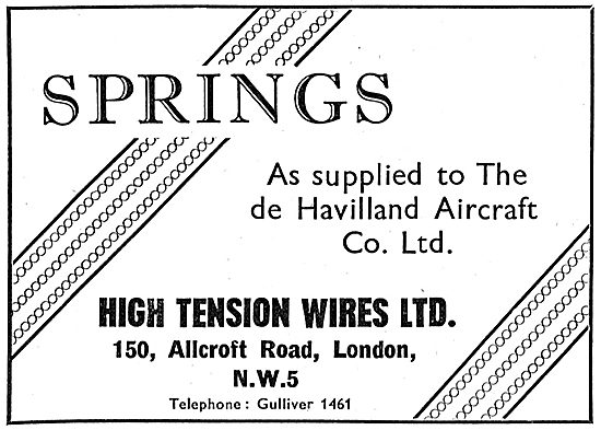 High Tension Wires Ltd: Spring Manufacturers