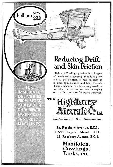 Highbury Aircraft - Aeronautical Component Manufacturers