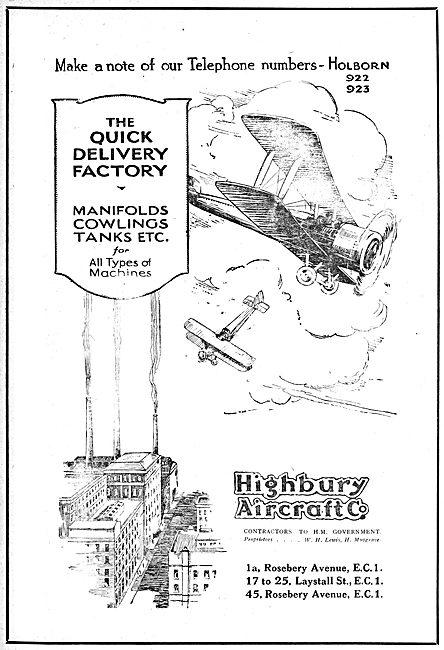 Highbury Aircraft - Aeronautical Components