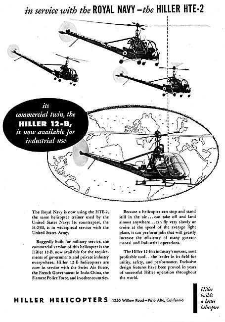 Hiller 12-B - HTE-2