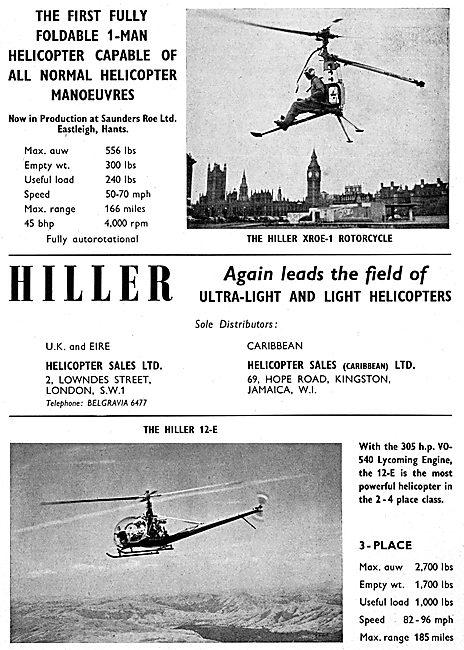 Hiller XROE-1 - Hiller 12-E