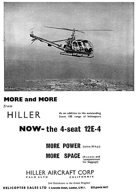 Hiller 12E   Hiller 12E-4