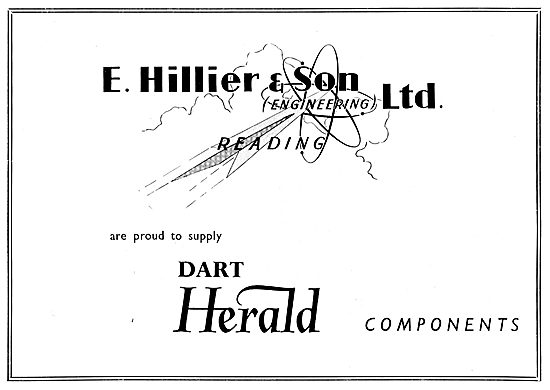 Hillier & Son Reading. Aircraft Engineers