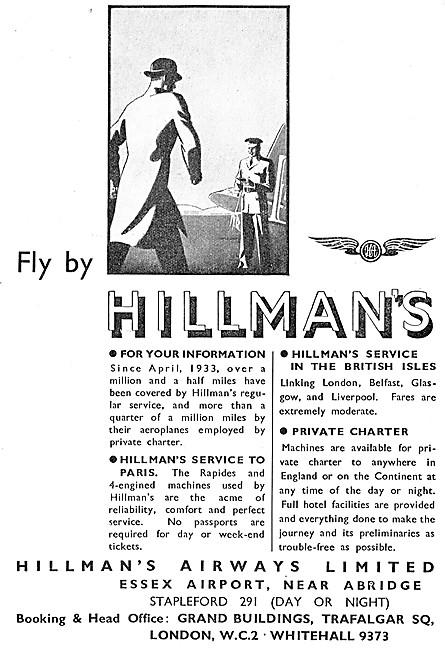 Hillmans Airways
