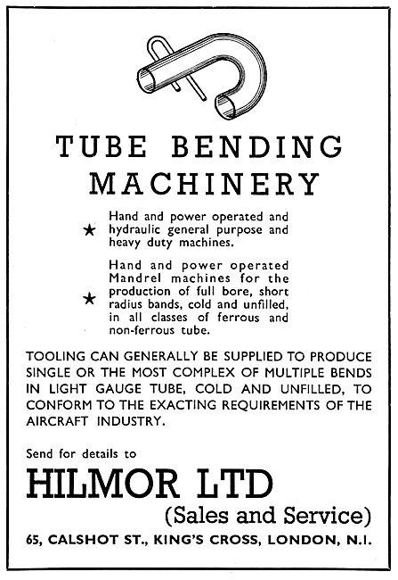Hilmor Tube Bending Machinery