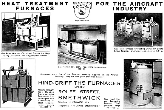 Hind-Griffiths Heat Treatment Furnaces