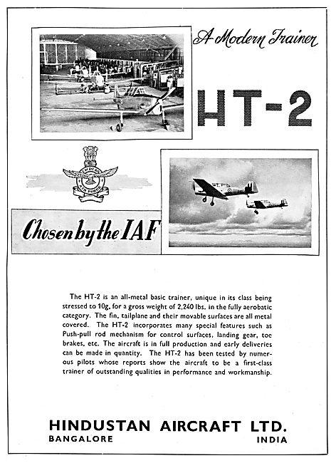 Hindustan Aircraft HT-2