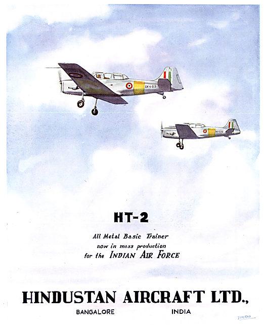 Hindustan Aircraft HT 2