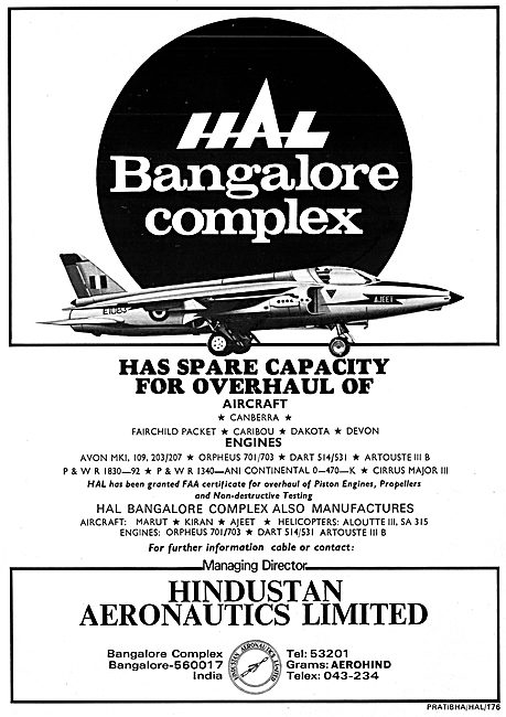 Hindustan Aeronautics HAL Bangalore