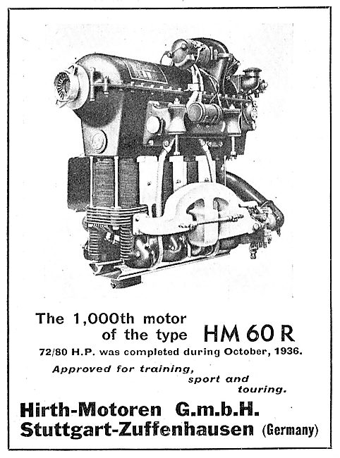 Hirth HM60R Aero Engine
