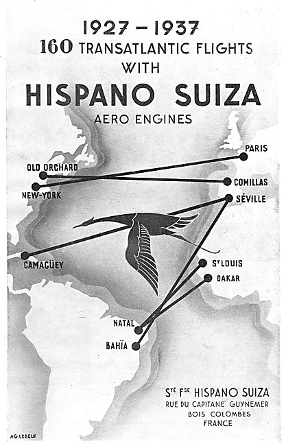 Hispano Suiza Aero Engines