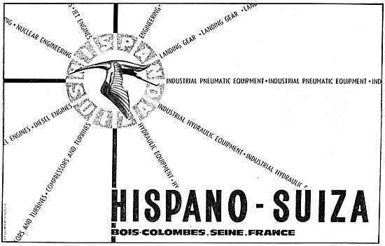 Hispano Suiza Aero Engine & Aircraft Components
