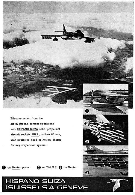 Hispano Suiza Solid Propellant Rockets