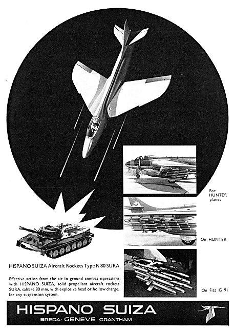 Hispano Suiza Rockets Type R 80 SURA