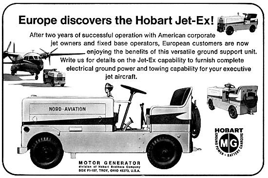 Motor Generator. Hobart H Jet-Ex Ground Power Units. Hobart GPU
