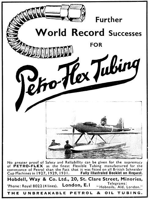 Hobdell, Way & Co - Petro-Flex Tubing 1931
