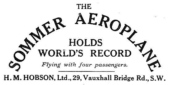 H M Hobson - Sommer's Aeroplane