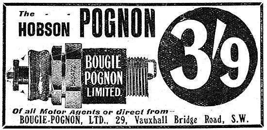Hobson Pognon Sparking Plugs