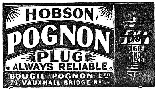 Hobson Bougie Pognon Spark Plugs