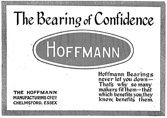 Hoffmann. The  Bearing Of Confidence.