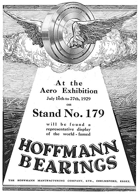 Hoffmann Bearings For Aircraft Engines & Componenets
