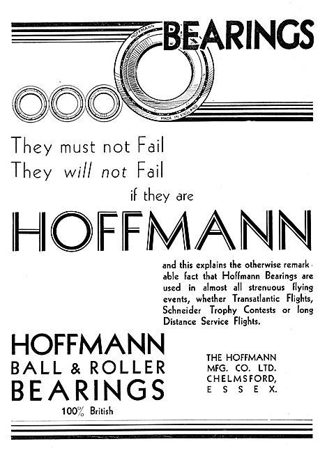 Hoffmann Bearings 1930