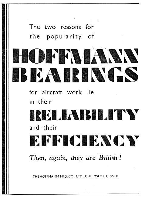 Hoffmann Bearings For Aircraft