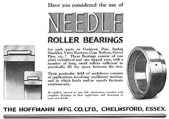Hoffmann Needle Roller Bearings