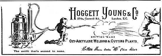 Hoggett Young Oxy-Acetylene Welding & Cutting Plants