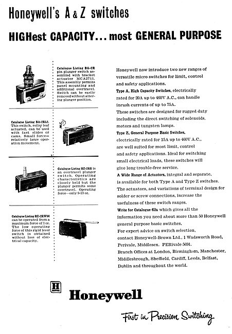 Honeywell Electronic & Electrical Components