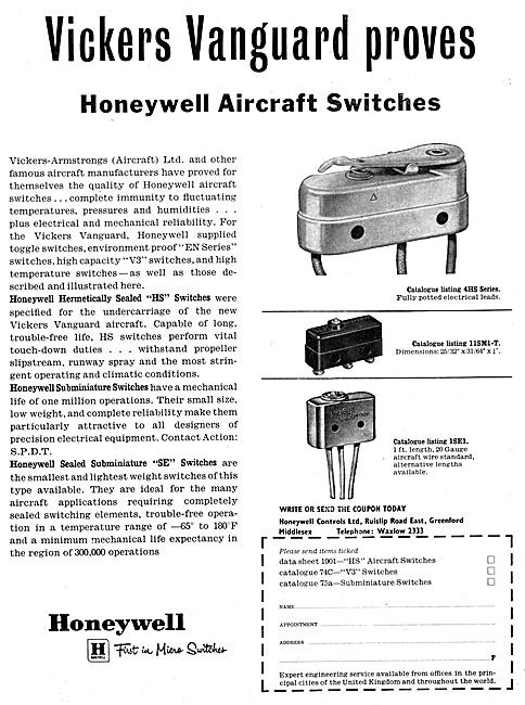 Honeywell Aircraft Electrical Equipment 1959