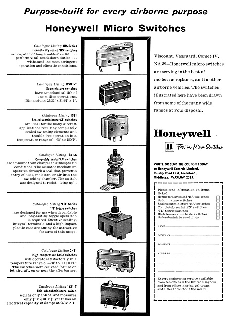 Honeywell Aircraft Electrical Equipment
