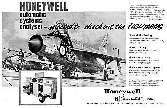 Honeywell Automatic Systems Analyser BAC Lightning