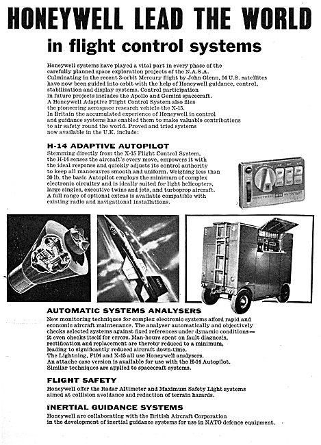 Honeywell Flight Control Systems. H14 Adaptive Autopilot