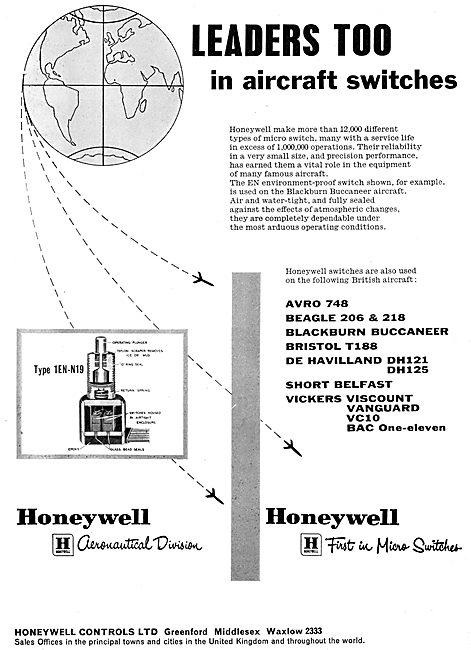 Honeywell Aircraft Switches