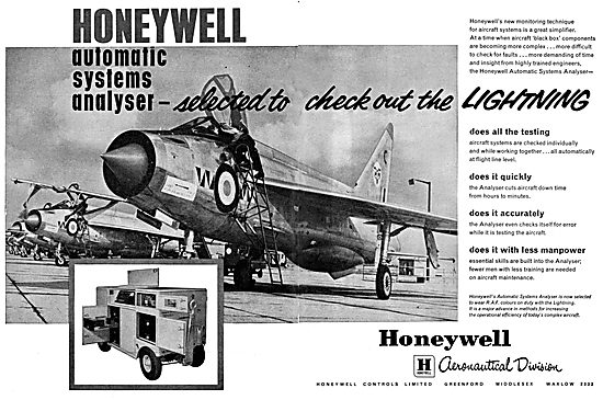 Honeywell Automatic Systems Analyser