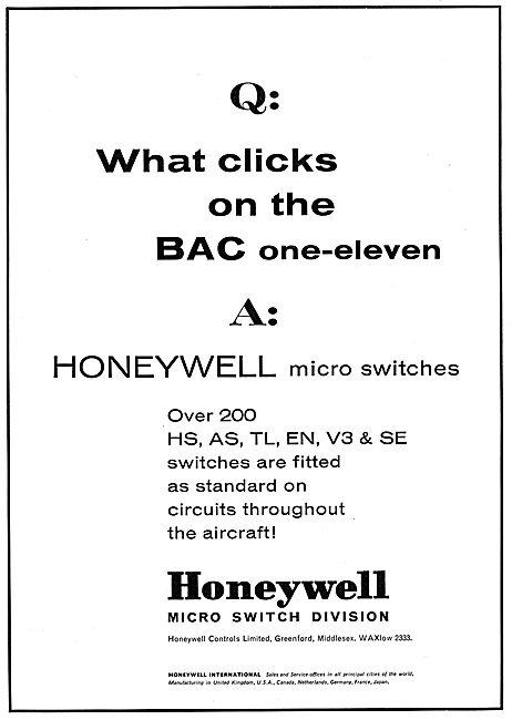 Honeywell Micro Switches