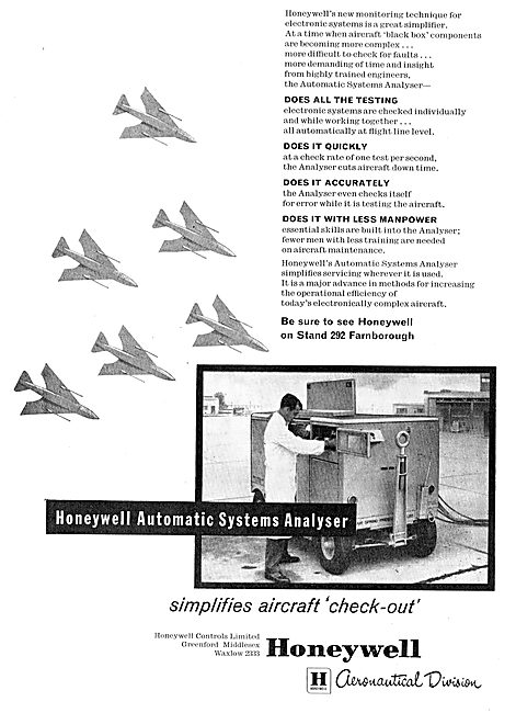 Honeywell Aircraft Systems Test Equipment