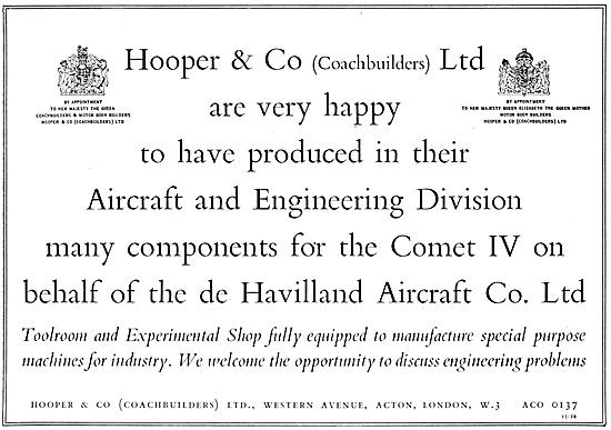 Hooper & Co - Coachbuilders. Sheet Metal Work