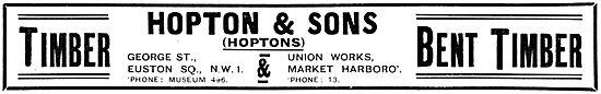 Hopton & Sons Wood Merchants - Bent Timber