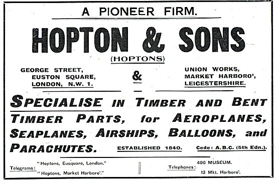 Hopton & Sons Wood Merchants - Wooden Components & Bent Timber