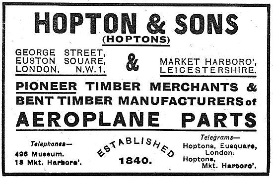 Hopton & Sons Wood Merchants - Wooden Components & Bent Timber