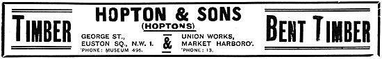 Hopton & Sons Wood Merchants - Hopton's Bent Timber